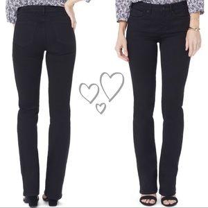 NYDJ black bootcut jeans size 4P